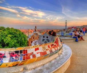 barcelona  top 10 park guell