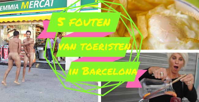 toerisme in barcelona