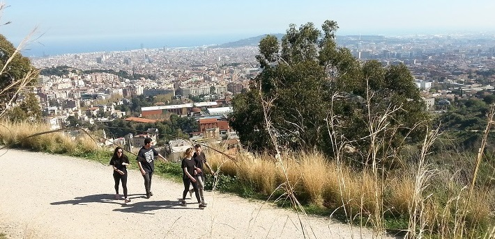 things to do in Barcelona walking carretera de les aigues Barcelona