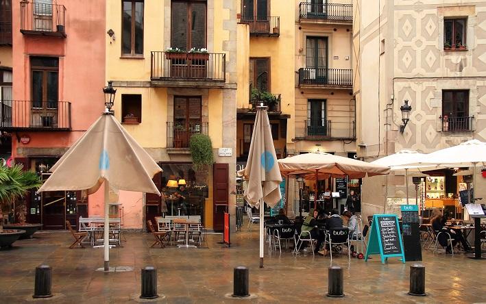 Barcelona wijken El Born