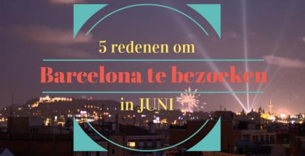 barcelona bezoeken juni