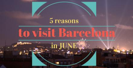 visit barcelona in june