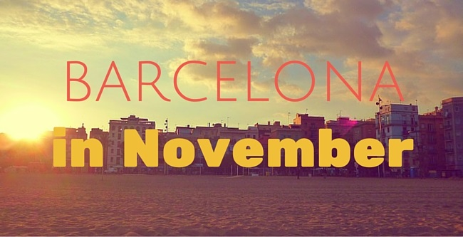 things to do in barcelona in november
