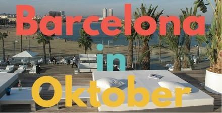 barcelona oktober dingen om te doen
