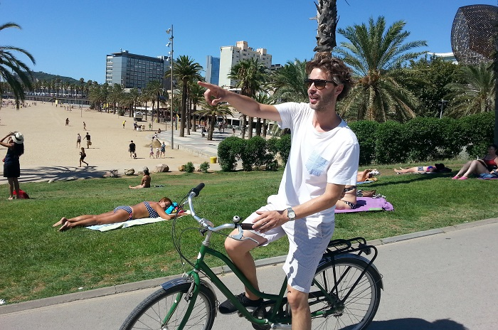 Barcelona things to do bike tour Meet my Barcelona