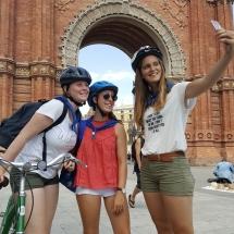 barcelona schoolreis fietsen