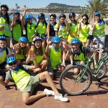 fietstour barcelona schooluitstap