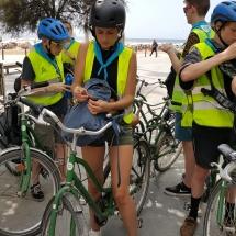 schoolreis barcelona fietstour