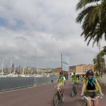 barcelona fietstocht eindejaarsreis