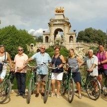 Per fiets door Barcelona