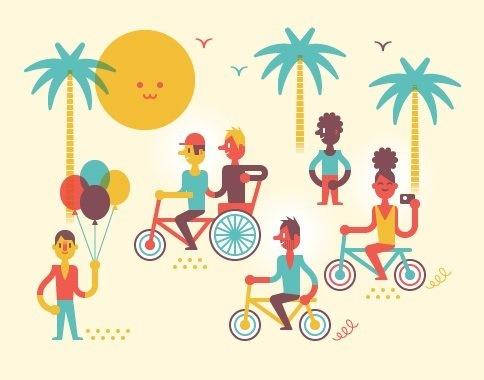 fietsen in barcelona voor groepen