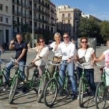 Barcelona fietstocht