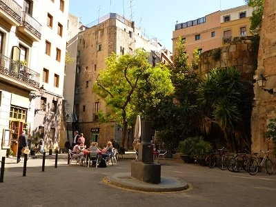 fietsen in barcelona gotico