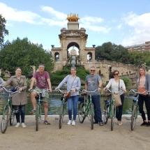 Barcelona fietstour met groep