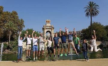 barcelona personeelsreis fietstocht