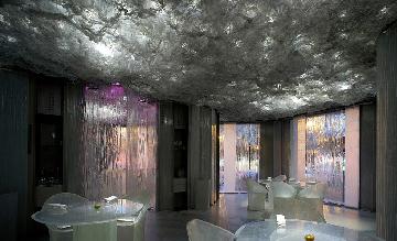 Barcelona met personeel restaurant