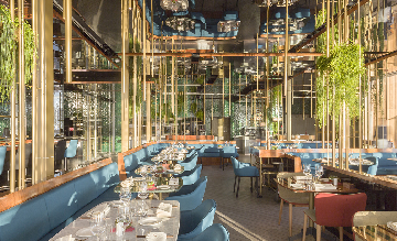 Barcelona restaurant bedrijfsreis